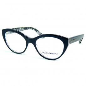 0c169b78ed15c Óculos de Grau - Dolce   Gabbana - Feminino - Frontal  140 mm ...