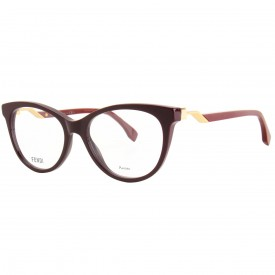Óculos de Grau - Fendi - Cor da Armação  Dourado ec999b82e0