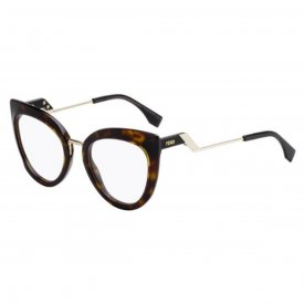 a8b7893568116 Imagem - Óculos de Grau Fendi Tropical Shine