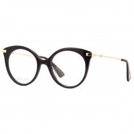 20dc53e8be2cc Óculos de Grau - Gucci - Feminino - Itens Inclusos  Flanela ...