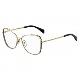 Óculos de Grau - Moschino - Feminino - Cor da Armação  Preto - Itens ... 4d0bbe874e