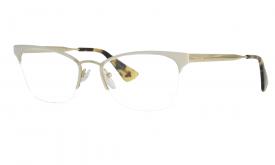 Óculos de Grau - Prada - Cor da Armação  Branco - Largura da lente ... 90800bb68b