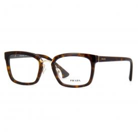 Óculos de Grau - Prada - Feminino - Frontal  140 mm - Largura da ... 5879c4803b