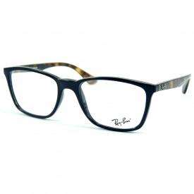 Óculos de Grau - Ray-Ban - Masculino - Altura da Lente  39 mm ... 98df262dce