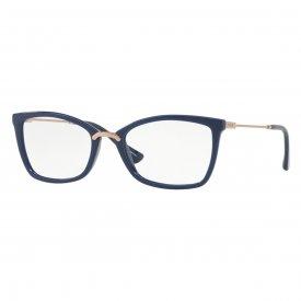 Óculos de Grau - Vogue - Cor da Armação  Azul Petróleo - Largura da ... 393dc28ac3