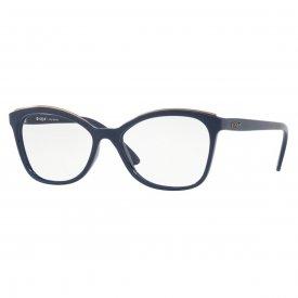 Imagem - Óculos de Grau Vogue Metal Eyebrow  20534 ...