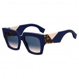 Imagem - Óculos de Sol Fendi Facets  23006 FF0263/S...