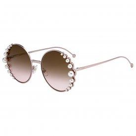 Imagem - Óculos de Sol Fendi Ribbons and Pearls  23...