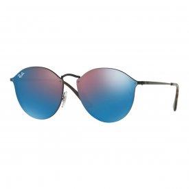 Imagem - Óculos de Sol Ray Ban Blaze Round  20649 R...