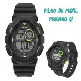 Imagem - Relógio Mormaii kit Pai e Filho
