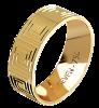 Aliança Seven Premium CAL1176/DAL1176 AU18K/750 2