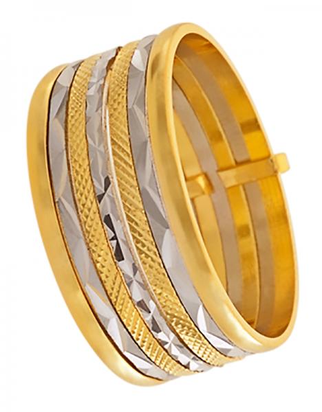 614560c34f0a9 Compre Anel em Ouro 12K 416AU 7 Elos em 10X   Tri-Jóia Shop