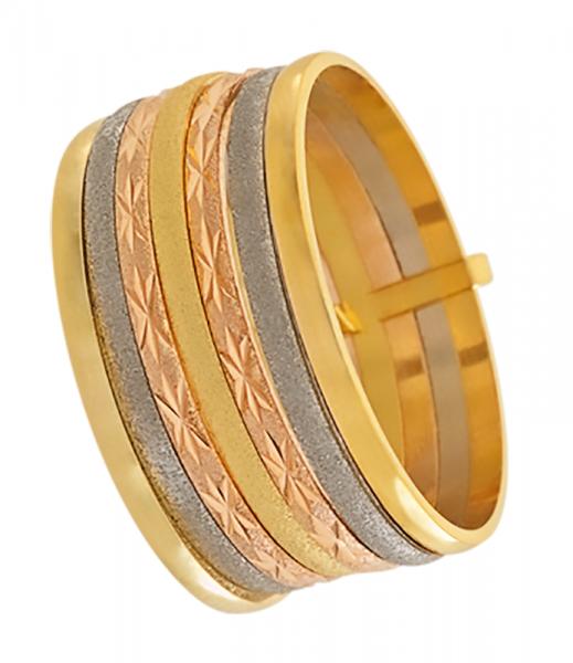 Compre Anel em Ouro 18K 750AU 7 Elos em 10X   Tri-Jóia Shop fc1ac99a05