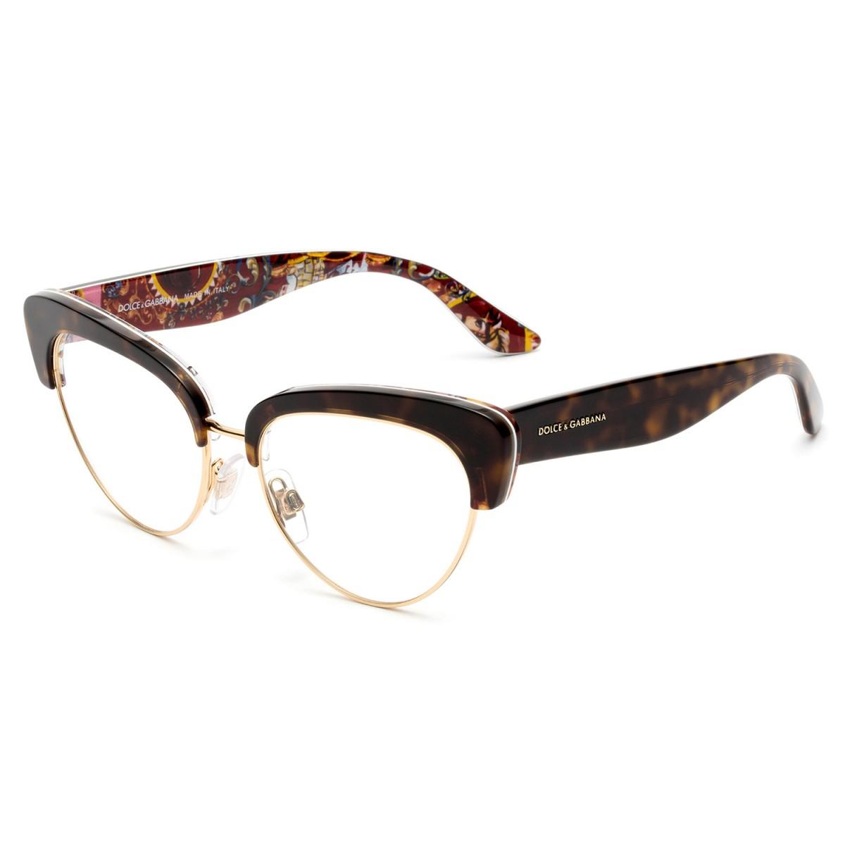 093dacb783a13 Compre Óculos de Grau Dolce   Gabbana Sicilian Caretto em 10X