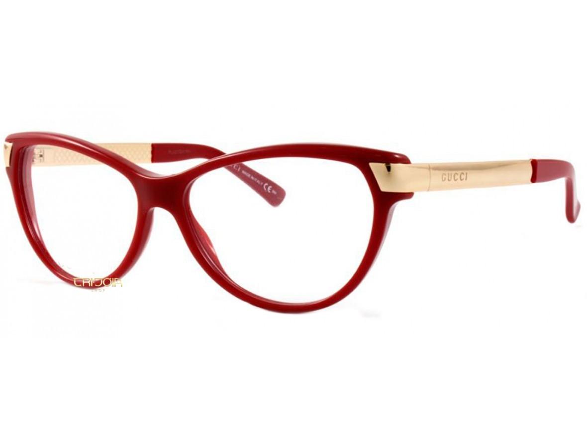 18309ab98c27f Óculos de Grau Gucci