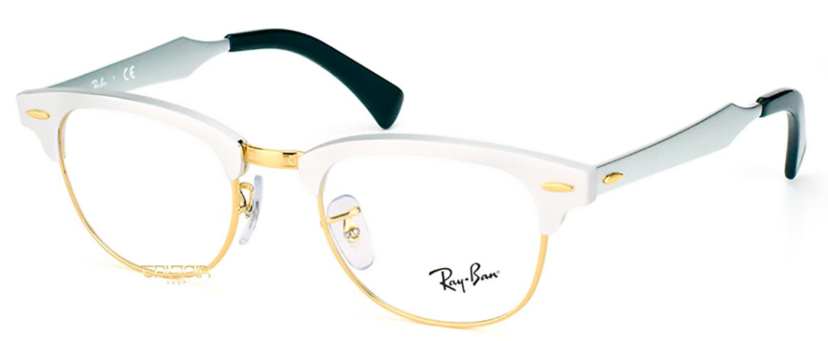 Compre Óculos de Grau Ray Ban Clubmaster Aluminum em 10X   Tri-Jóia Shop b70c6461dc