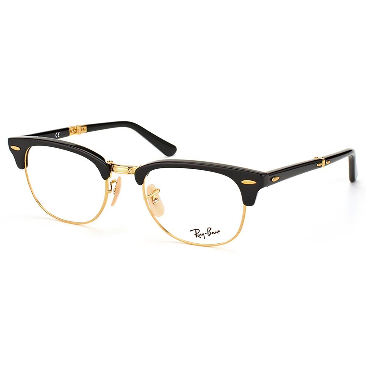 Compre Óculos de Grau Ray Ban ClubMaster Dobrável em 10X   Tri-Jóia Shop 4a874bd092