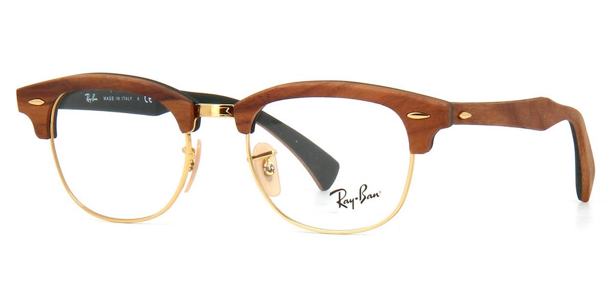 dc74afdf0 Compre Óculos de Grau Ray Ban Clubmaster Wood em 10X | Tri-Jóia Shop
