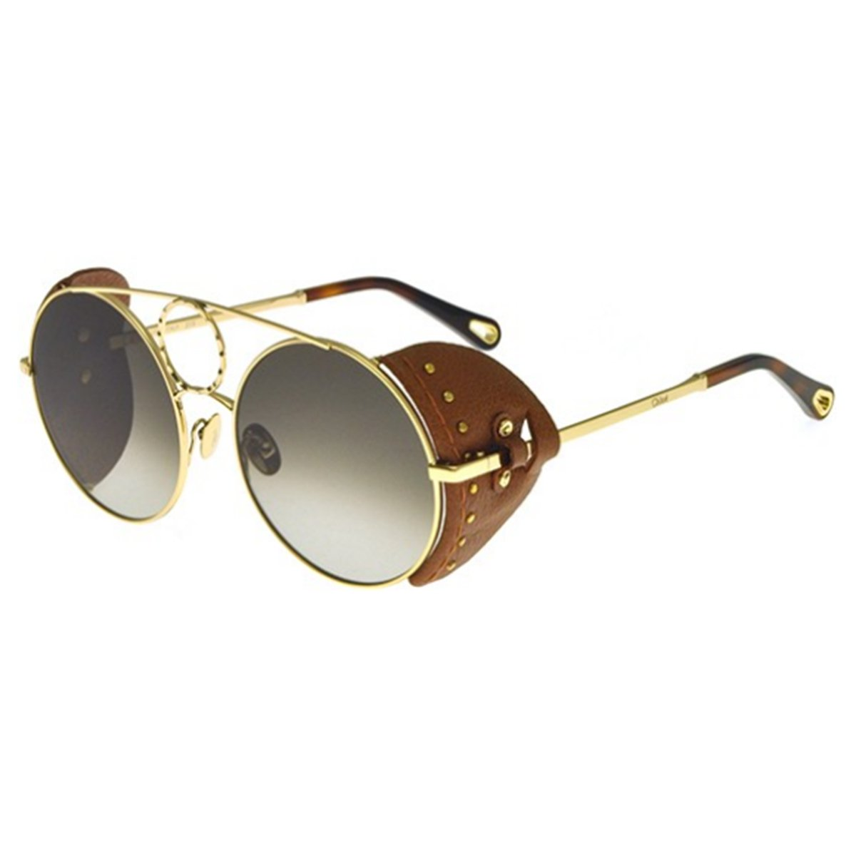 65b928ecd Compre Óculos de Sol Chloé Sierra em 10X | Tri-Jóia Shop