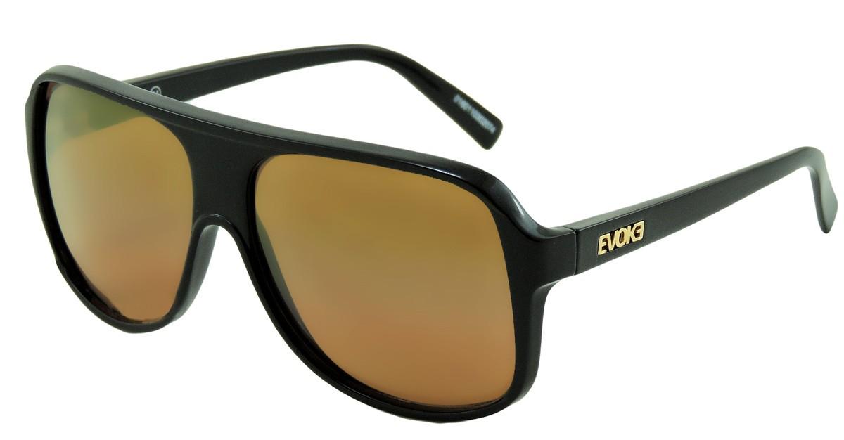 f1c1129705592 Compre Óculos de Sol Evoke EVK 04 Preto Laranja em 10X