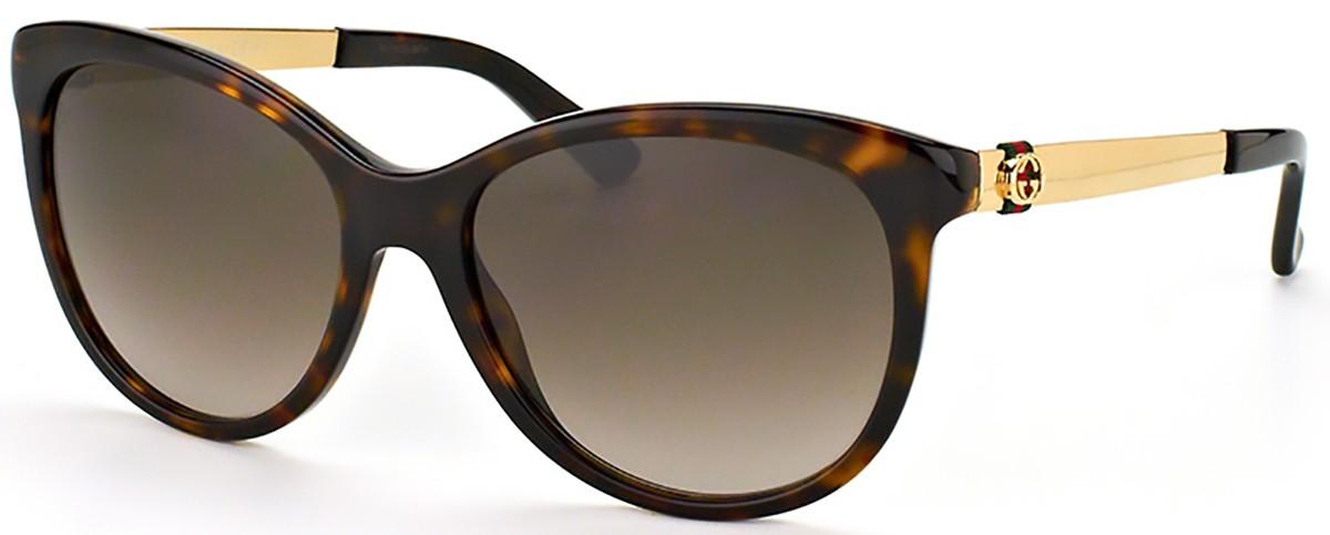 Compre Óculos de Sol Gucci em 10X   Tri-Jóia Shop 47df9565b7