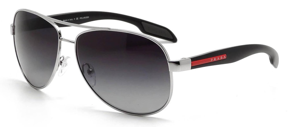 b4c6baa9723c5 Óculos de Sol Prada SPS53P 1BC-5W1
