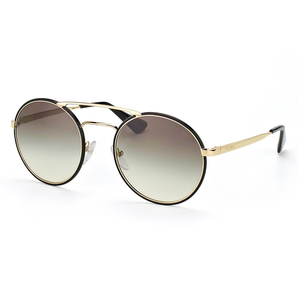 400cd020201 Óculos de Sol Prada Redondo PR 50TS Feminino - Compre Agora  Netshoes  533f9a1be5a Compre Óculos de Sol Prada em 10X Tri-Jóia Shop ... 1da6e5a843