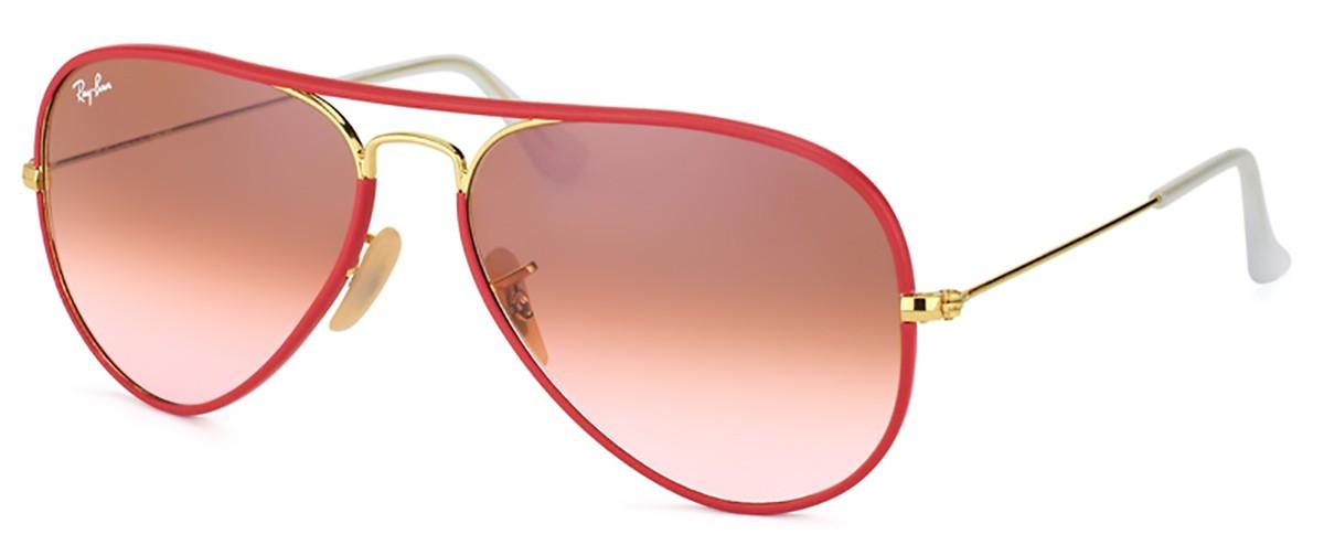 2b0c91bca4842 Óculos de Sol Ray Ban Aviador Full Color RB3025-J-M