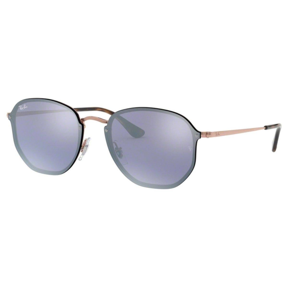Compre Óculos de Sol Ray Ban Blaze Hexagonal em 10X  036f2550a0cd0