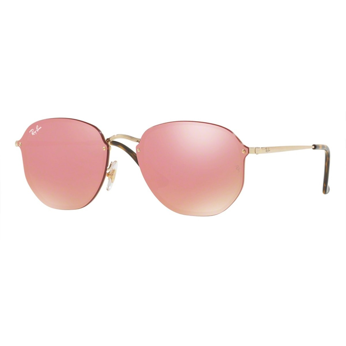 db6ae0428c01f Compre Óculos de Sol Ray Ban Blaze Hexagonal em 10X   Tri-Jóia Shop