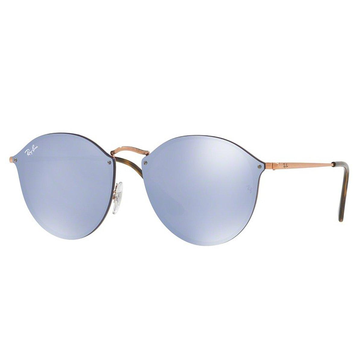 Compre Óculos de Sol Ray Ban Blaze Round em 10X   Tri-Jóia Shop 4a6409ac24