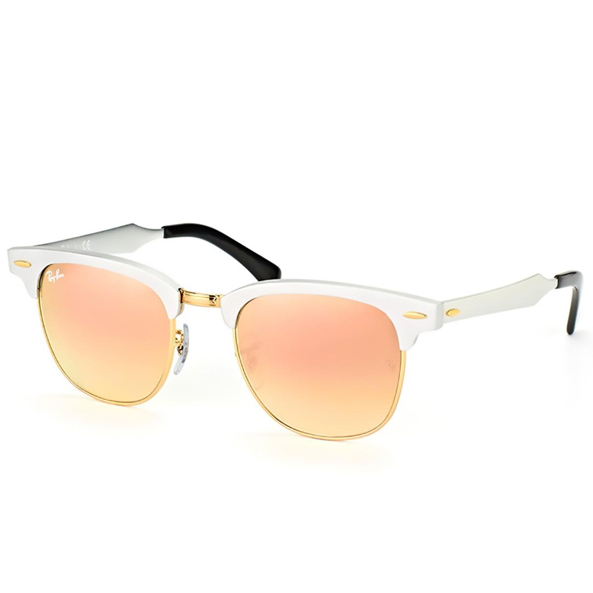 Óculos de Sol Ray Ban ClubMaster Aluminum RB3507 d660d16f28