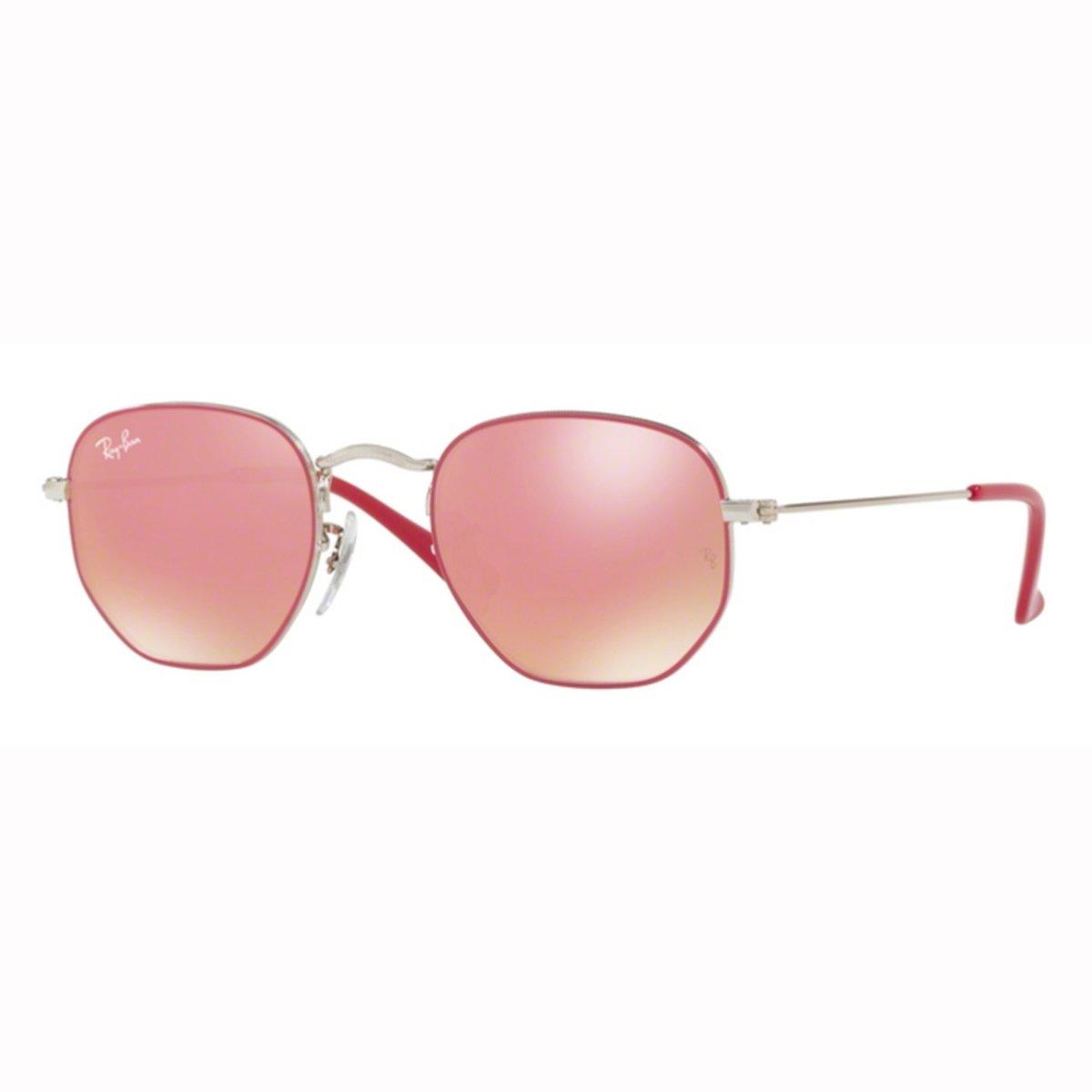 Compre Óculos de Sol Ray Ban Hexagonal Infantil em 10X   Tri-Jóia Shop 2ac2c7f057