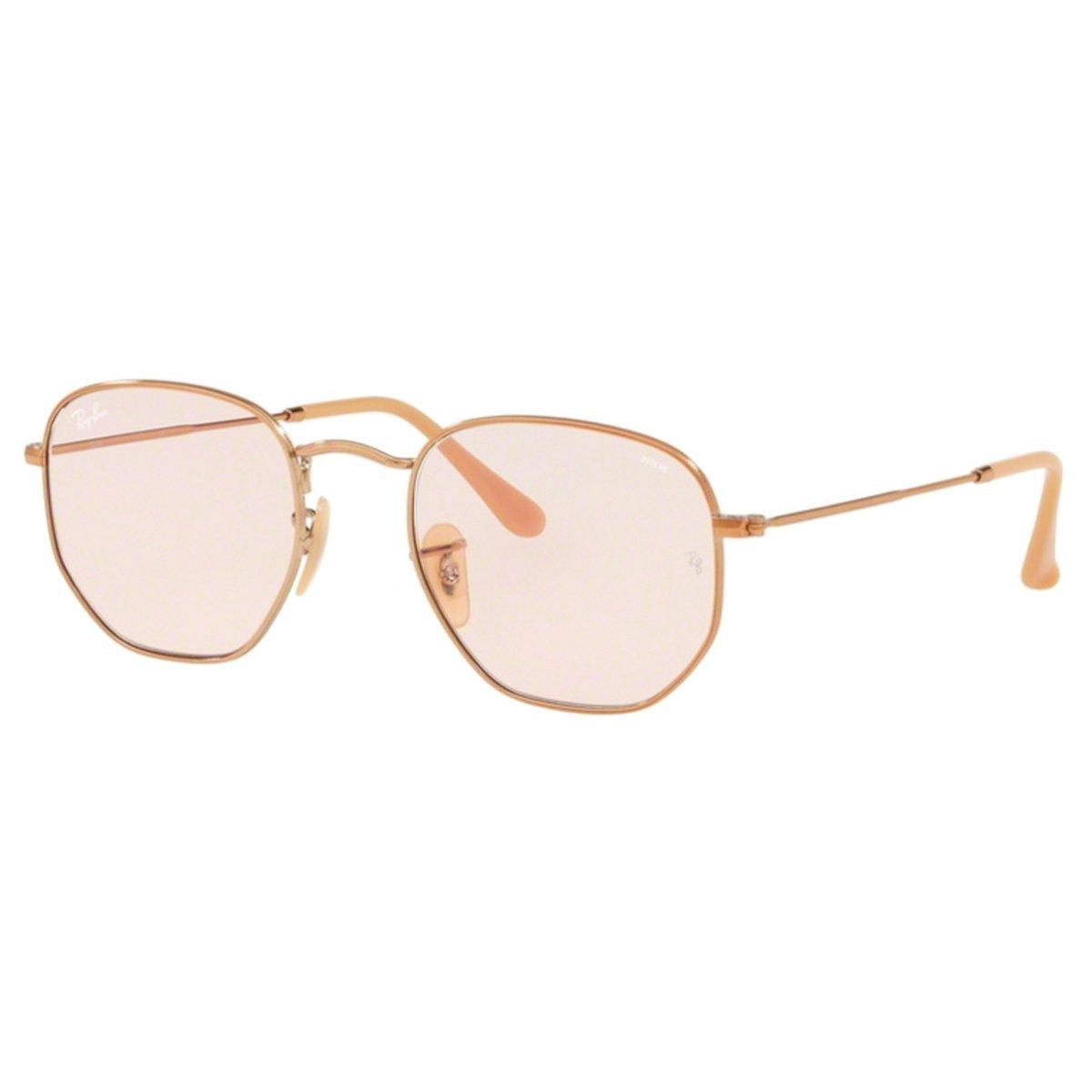 Compre Óculos de Sol Ray Ban Hexagonal OverSized em 10X   Tri-Jóia Shop e588d2b813a3