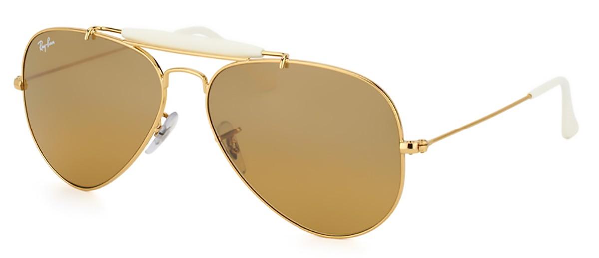 0310a3f3bed70 Óculos de Sol Ray Ban II Rainbow RB3407 001 3K   Tri Jóia Shop