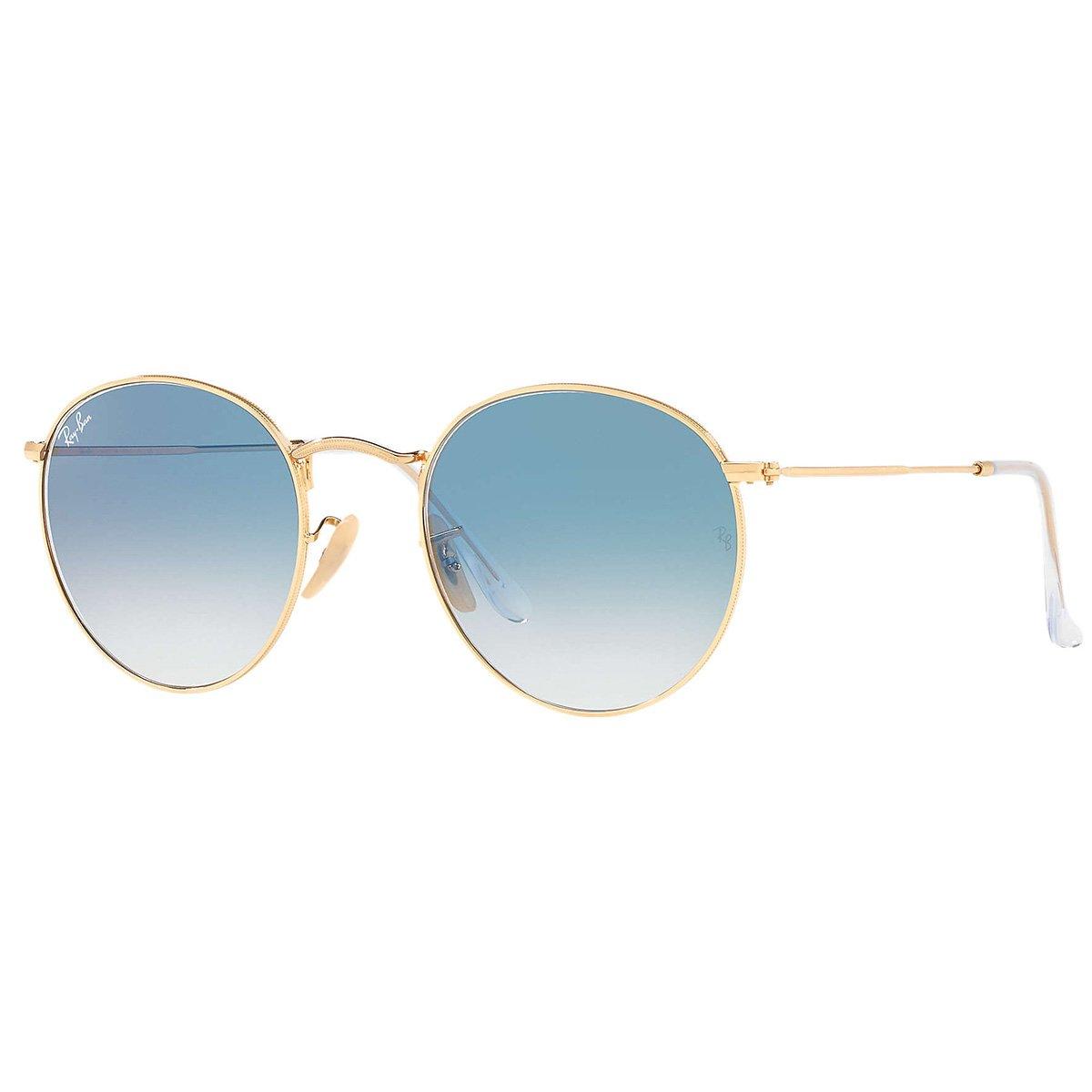 b0d97cd0d Compre Óculos de Sol Ray Ban Round Metal em 10X