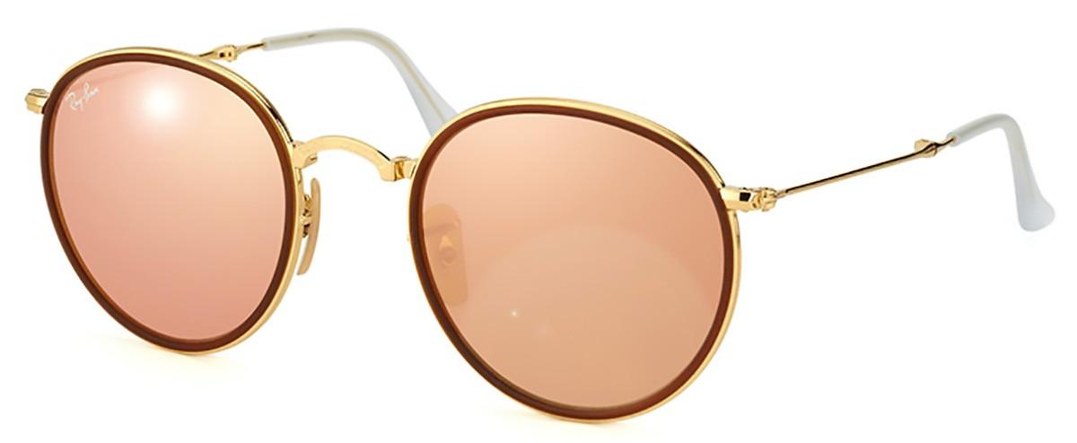 e64a564c7 Compre Óculos de Sol Ray Ban Round Dobrável em 10X | Tri-Jóia Shop