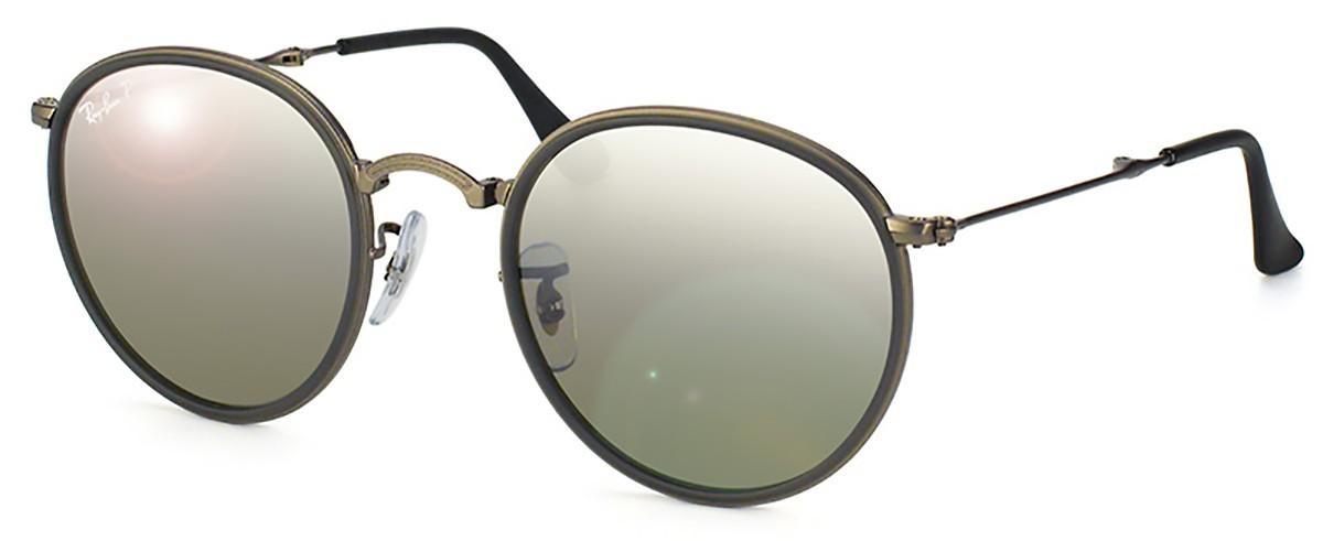 Compre Óculos de Sol Ray Ban Round Dobrável em 10X   Tri-Jóia Shop 71cb083253