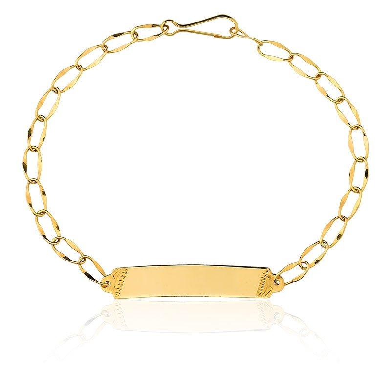 e57d627a4d0fb Compre Pulseira em ouro 12k 416au Melindrosa Infantil em 10X   Tri-Jóia Shop