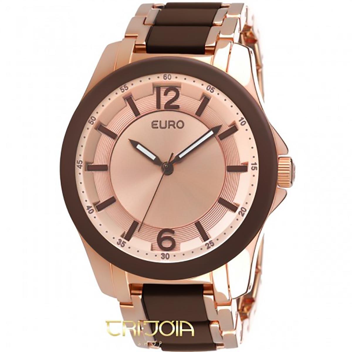 Relógio Euro Rose Gold Kiev EU2035FGN 4M 5f362ba97c