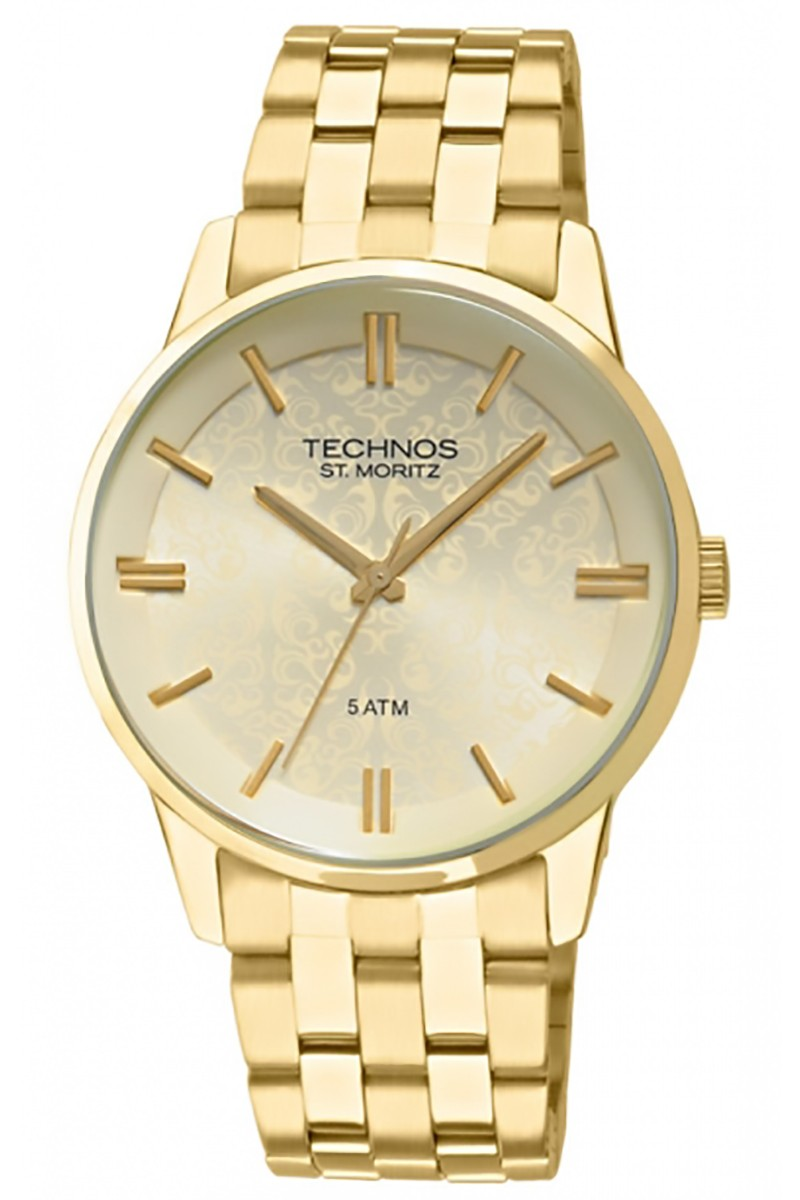 25747a4118a Relógio Feminino Analógico Elegance St.Moritz Technos 2035GGL