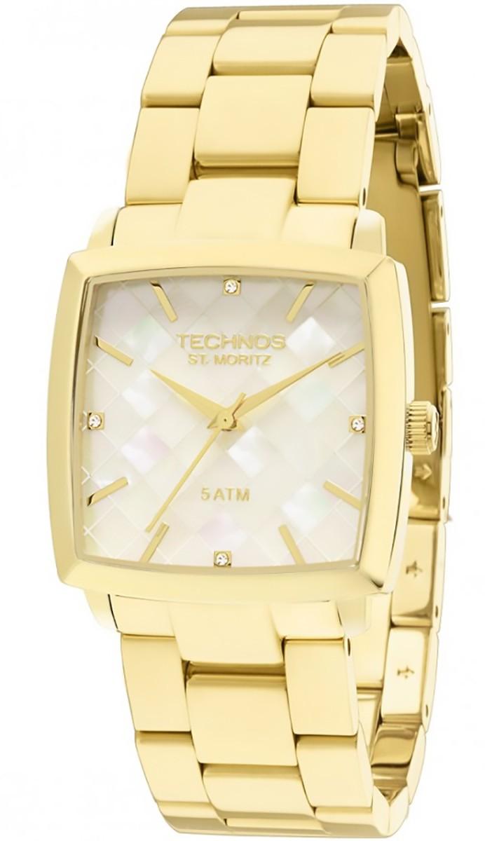 b9500677059d6 Compre Relógio Feminino Analógico Technos St. Moritz em 10X   Tri ...