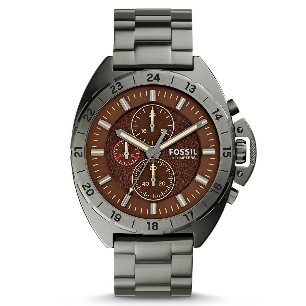 Compre Relógio Fossil Breaker em 10X   Tri-Jóia Shop 53e3e04e97