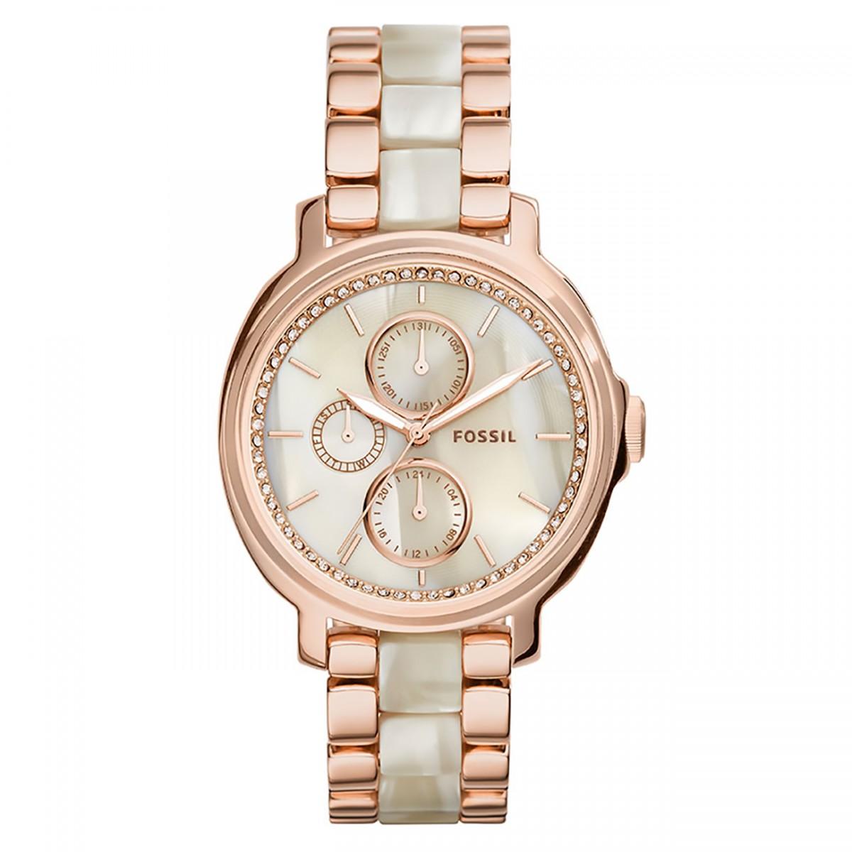 79579ddd2ee Compre Relógio Fossil Chelsey em 10X