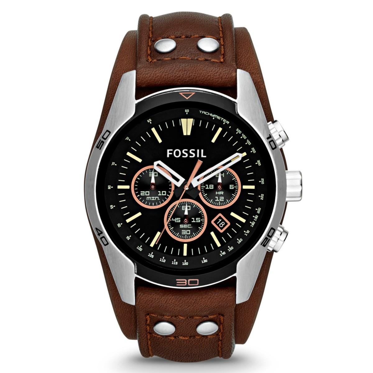 380ed699e0f Compre Relógio Fossil Coachman em 10X