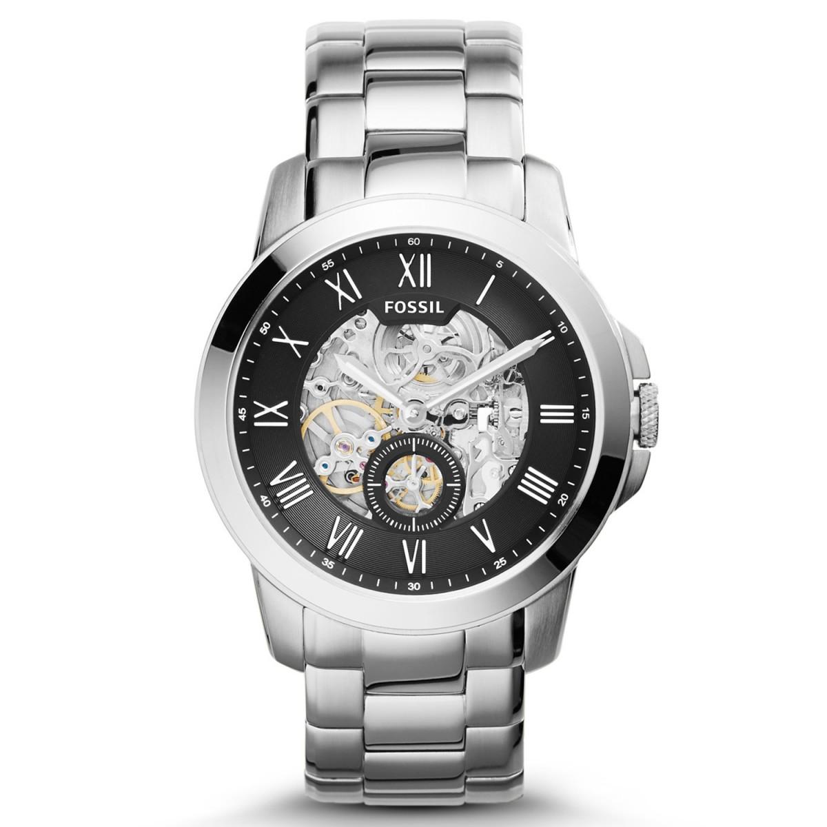 Compre Relógio Fossil Grant Automático em 10X   Tri-Jóia Shop c046bb7ba6