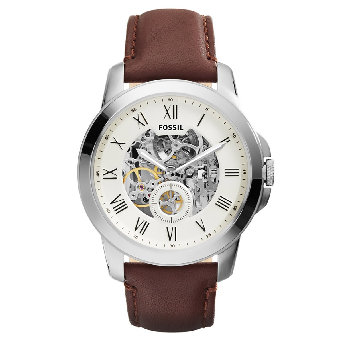 2be7fc22486ab Compre Relógio Fossil Grant Automático em 10X   Tri-Jóia Shop