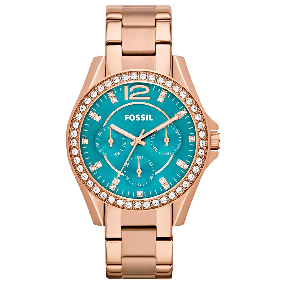 62b770022c7 Compre Relógio Fossil Riley em 10X