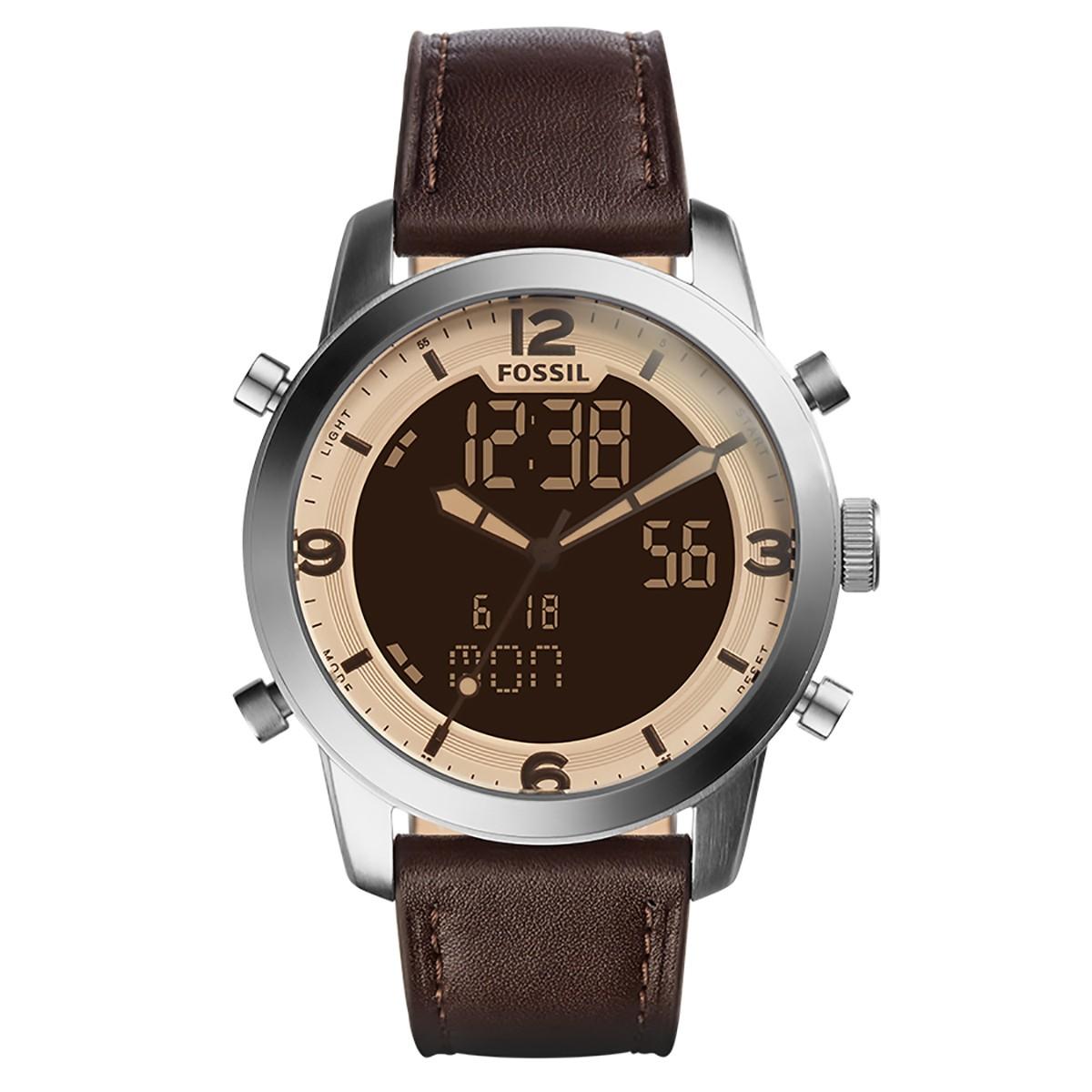5eb6eff2c23b6 Compre Relógio Masculino Fossil Pilot em 10X   Tri-Jóia Shop