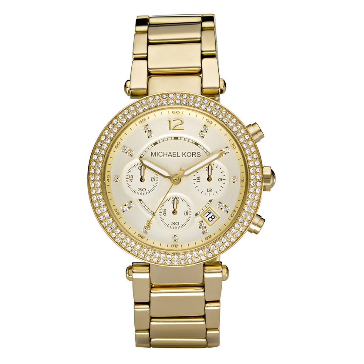 Compre Relógio Michael Kors Parker em 10X   Tri-Jóia Shop 42dc76a79d